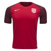 2017 USA Away Red Soccer Jersey Shirt