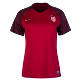 2017 USA Away Red Women's Jersey Shirt
