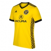 17-18 Columbus Crew SC Home Yellow Jersey Shirt