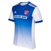 17-18 FC Dallas Away Blue Soccer Jersey Shirt