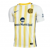 17-18 Rosario Central Away Yellow&White Jersey Shirt
