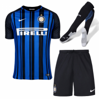 Inter Milan 17/18 Home Cheap Soccer Full Kit