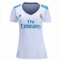 Real Madrid 17-18 Home Women's Jersey Shirt