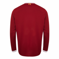 17-18 Liverpool Home Red Long Sleeve Jersey Shirt