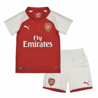 17-18 Arsenal Home Children's Jersey Kit(Shirt+Short)