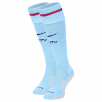 Manchester City 17-18 Home Sky Blue Jersey Socks