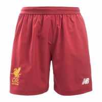 Liverpool 17-18 Home Red Soccer Jersey Short