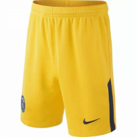 17-18 PSG Away Yellow Soccer Jersey Short