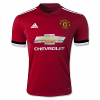 Manchester United 17/18 Home Soccer Uniform (Player Version)