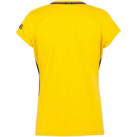 17-18 PSG Away Yellow Women's Soccer Jersey Shirt