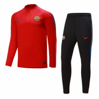 17-18 Barcelona Red Training Kit(Jacket+Trousers)