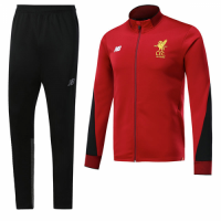 17-18 Liverpool Red Training Kit(Jacket+Trousers)