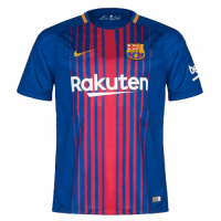 Barcelona 17/18 Home Soccer Jerseys Football Shirt