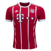 Bayern Munich 17/18  Home Red Jersey Shirt Soccer Jerseys
