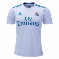 Real Madrid 17/18 Home Soccer Jersey