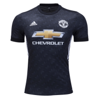 Manchester United 17/18 Away SoccerJersey Shirt (Player Version)