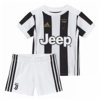Juventus 17/18  Home Children Soccer Kit Football Kit