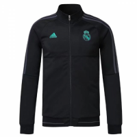 17-18 Real Madrid Black Training Jacket