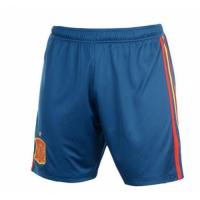 2018 Spain Home Jersey Soccer Shorts