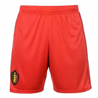 2018 Belgium Home Red Jersey Shorts