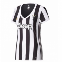 17-18 Juventus Home Women's Jersey Shirt