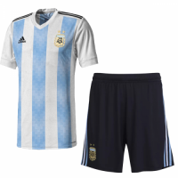 2018 Argentina Home Jersey Kit (Shirt+Shorts)