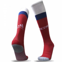 2018 Russia Home Red Soccer Jersey Socks