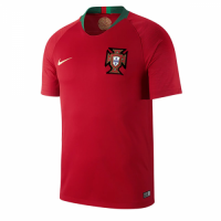 2018 World Cup Portugal Home Red Jersey Shirt