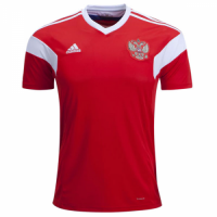 2018 Russia Home Red Soccer Jersey Shirt(Player Version)