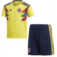 2018 Colombia Home Children's Jersey Kit(Shirt+Short)