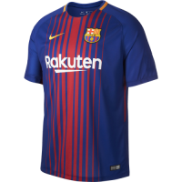 Barcelona 17/18 Home Soccer Kit (Shirt+Short)