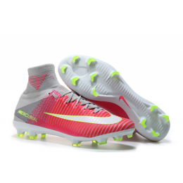 NK Mercurial Superfly V FG boots-Pink