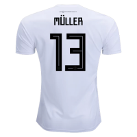 2018 Germany World Cup # 13 MULLER Home  Jersey Shirt