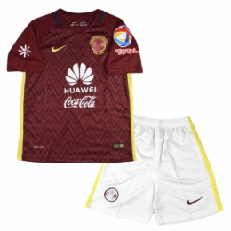 sports shoes e3aed 8d2be 16-17 Club America Away Red Children's Jersey Kit(Shirt+Short)