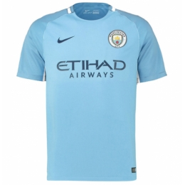 17-18 Manchester City Home Jersey Shirt