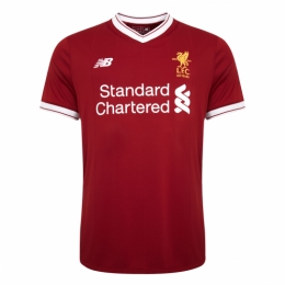 Liverpool 17/18 Home Soccer Jersey Football Shirt
