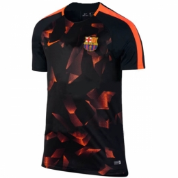 Barcelona 17/18 BlackPre-MatchTraining Shirt