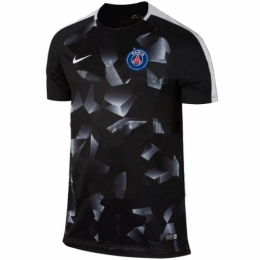 PSG 17/18 Black Pre-MatchTraining Jersey