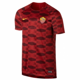 Roma 17/18 Red Pre-MatchTraining Shirt