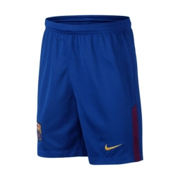 Barcelona 17/18 Home Blue Soccer Short