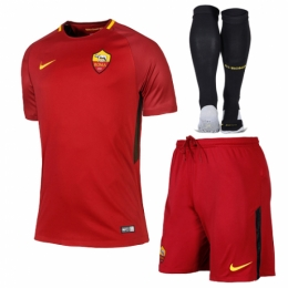 Roma 17/18 Home Kit Full Soccer kits