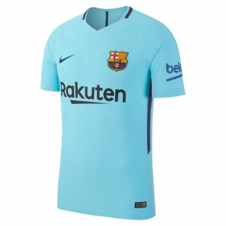 Barcelona 17-18 Away Blue Soccer Jersey Shirt