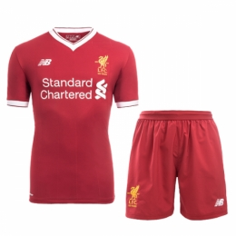 Liverpool 17-18 Home Soccer Jersey Kit(Shirt+Short)