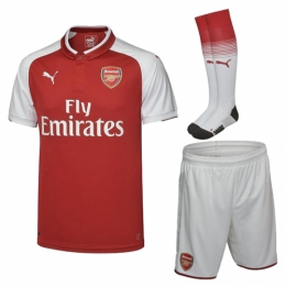 Arsenal 17-18 Home Jersey Whole Kit(Shirt+Short+Socks)