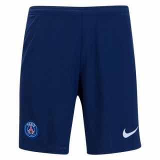 PSG 17-18 Home Navy Soccer Jersey Short