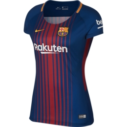 Barcelona 17/18 Home Ladies Jersey Shirt