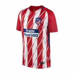 17-18 Atletico Madrid Home Soccer Jersey Shirt