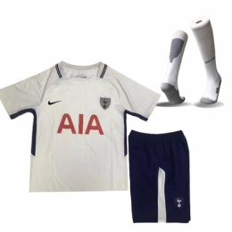 17-18 Tottenham Hotspur Home Children's Jersey Kit(Shirt+Short+Socks)