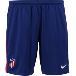 17-18 Atletico Madrid Home Blue Jersey Short