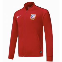 17-18 Atletico Madrid Red Training Jacket